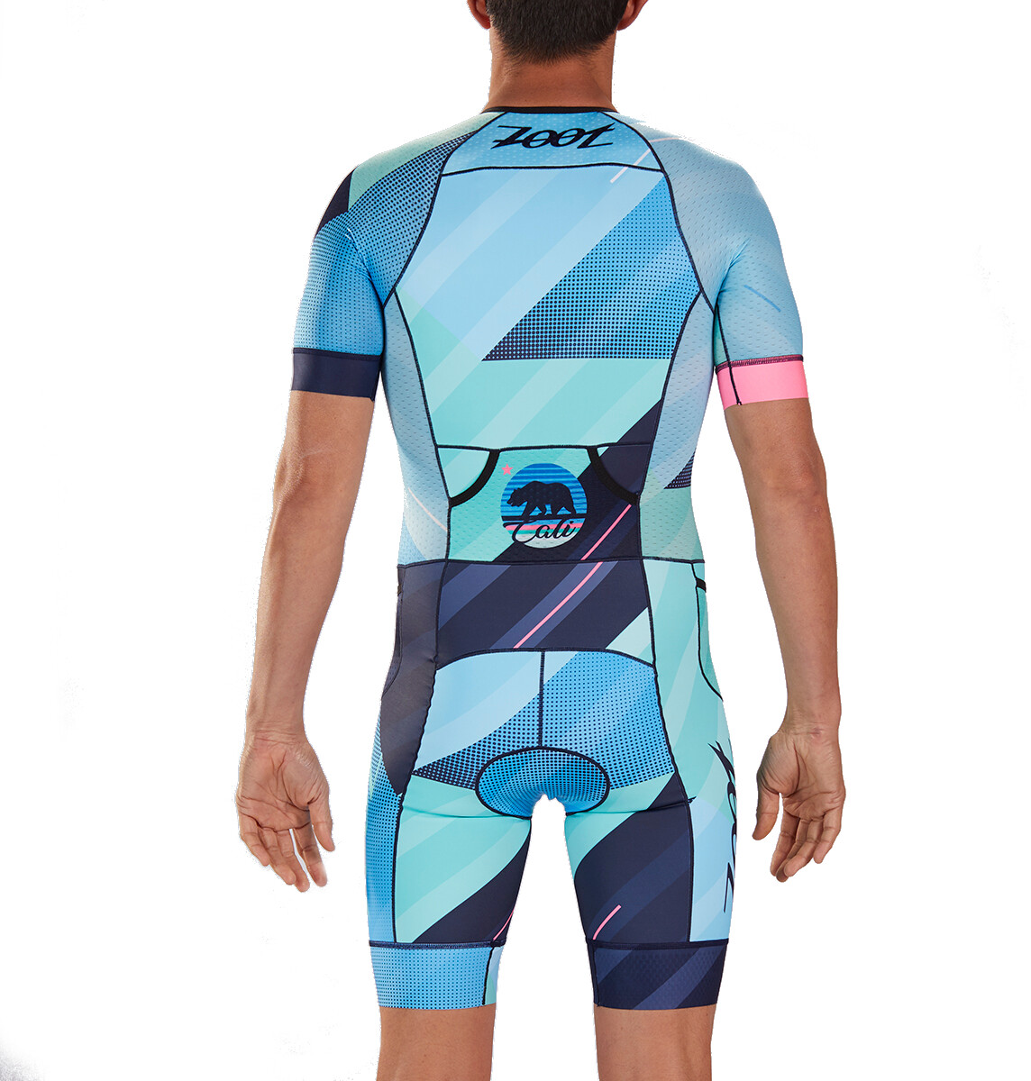 bae11852 Zoot LTD Tri Aero SS Racesuit Men cali | Gode tilbud hos bikester.no